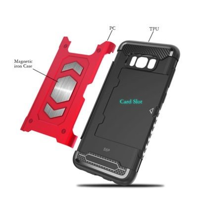 heavy duty magnetic Case For Samsung Galaxy note 9