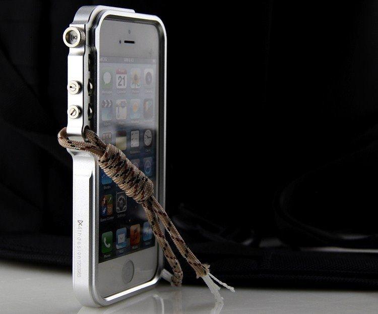 Aluminium Bumper Case For iphone X