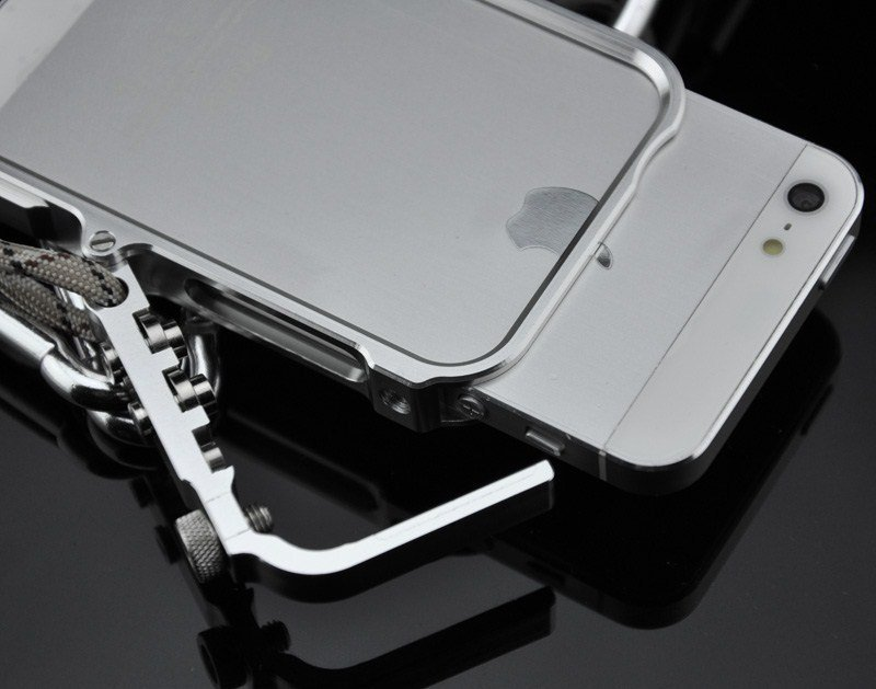 Aluminum Metal Bumper Phone Case For iPhone X Xs Max