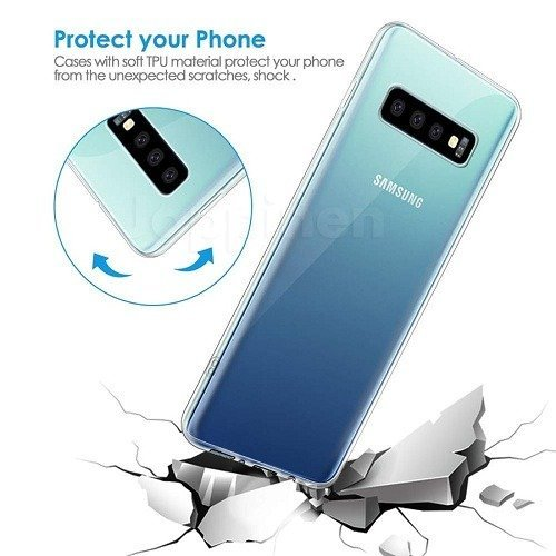 Samsung Galaxy S10 Plus Transparent Case