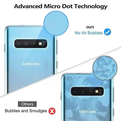 Samsung S10 Clear Transparent Silicone Case